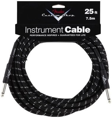 Fender Custom Shop Performance Cable 7,5 m Black
