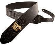 Ernie Ball 4073 Leather Black Croc Strap