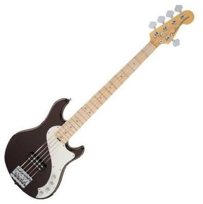 Fender American Deluxe Dimension Bass V MN Root Beer