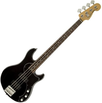 Fender American Standard Dimension Bass IV HH RW Black