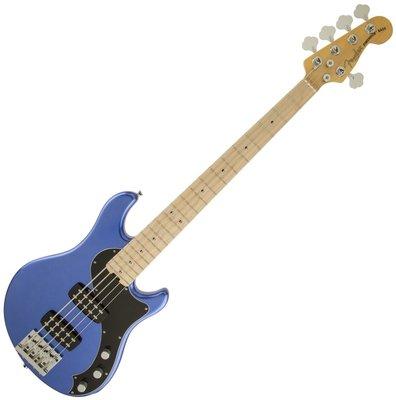 Fender American Standard Dimension Bass V HH MN Ocean Blue Metallic