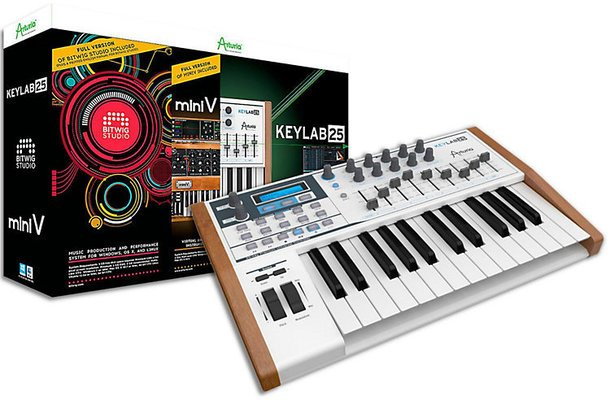 Arturia KeyLab 25 Advanced Producer Pack