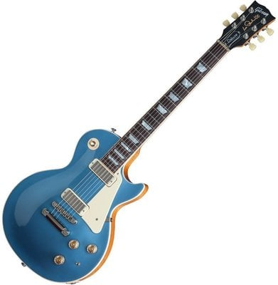 Gibson Les Paul Deluxe Metallic 2015 Pelham Blue Top