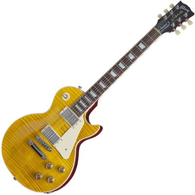 Gibson Les Paul Standard 2015 Trans Amber Cherry Back Candy