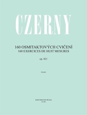 CarlCzerny 160 osmitaktových cvičení op. 821