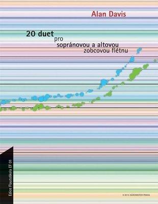 Alan Davis 20 duet pro sopránovou a altovou zobcovou flétnu