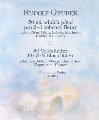 Rudolf Gruber 50 národních písní I. díl