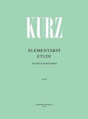 Vilém Kurz Elementární etudy - 78 progresivně seřazených etud pro 1. a 2. stupeň klavírní hry