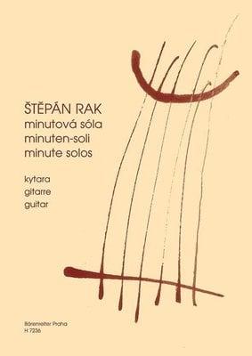 Bärenreiter Minutová sóla (drobné skladby pro začínající kytaristy)