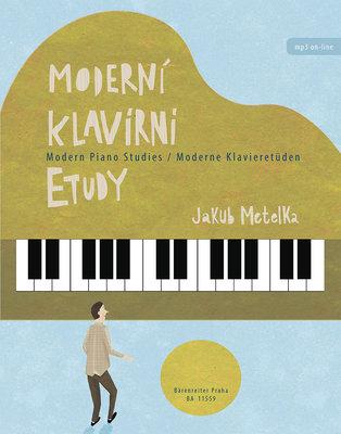 Jakub Metelka Moderní klavírní etudy