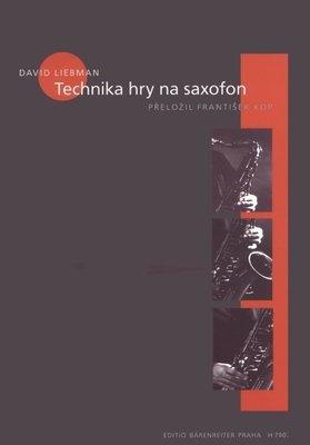 David Liebman Technika hry na saxofon