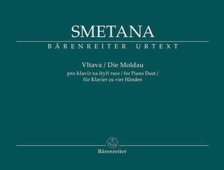Bedřich Smetana Vltava pro klavír na čtyři ruce - symfonická báseň z cyklu Má vlast