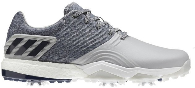 Adidas Adipower 4Orged Mens Golf Shoes Grey 2/Collegiate Navy/Raw White UK 10,5