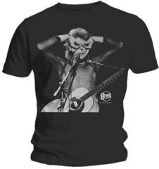 David Bowie Unisex Tee Acoustics Black