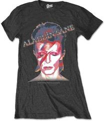 David Bowie Ladies Premium Tee Aladdin Sane Black