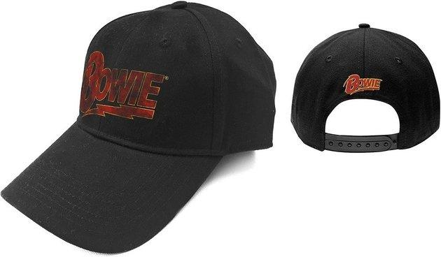 David Bowie Unisex Baseball Cap Flash Logo