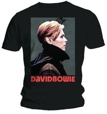 David Bowie Unisex Tee Low Portrait L