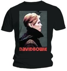 David Bowie Unisex Tee Low Portrait Black