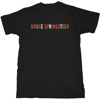 Bruce Springsteen Unisex Tee Logo L