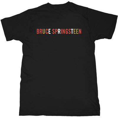 Bruce Springsteen Unisex Tee Logo XL