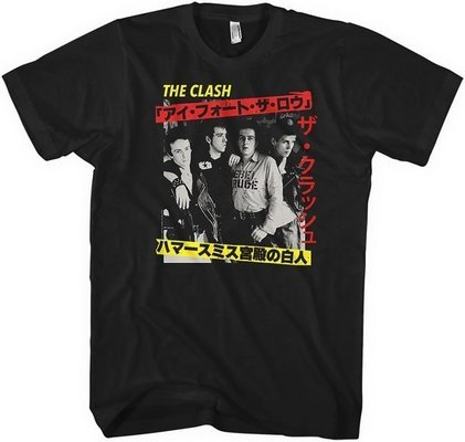 The Clash Unisex Tee Kanji M