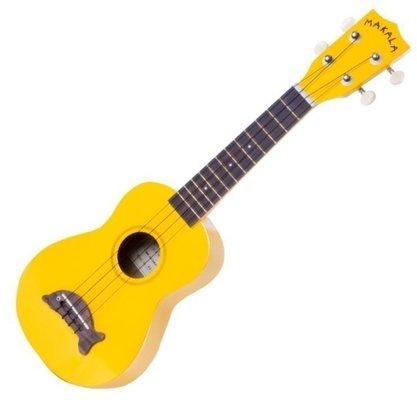 Kala Makala Soprano Ukulele  Yellow