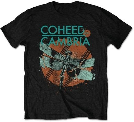 Coheed & Cambria Unisex Tee Dragonfly (Retail Pack) XL