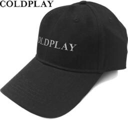 Coldplay Unisex Baseball Cap White Logo