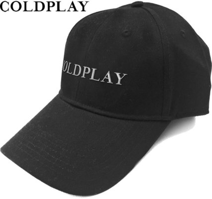 Coldplay Unisex Baseball Cap White Logo