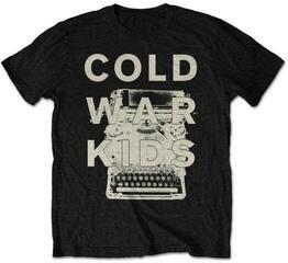 Cold War Kids Unisex Tee Typewriter (Retail Pack) L