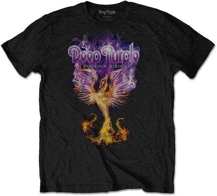 Deep Purple Unisex Tee Phoenix Rising L