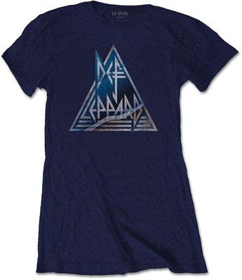 Def Leppard Tee Triangle Logo M