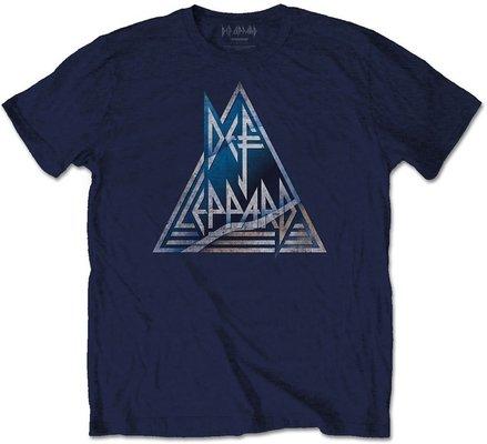 Def Leppard Unisex Tee Triangle Logo L