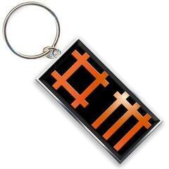 Depeche Mode Standard Keychain Logo