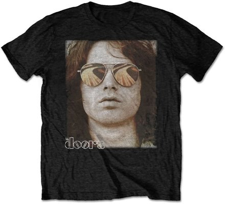 The Doors Unisex Tee Jim Face L