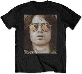 The Doors Unisex Tee Jim Face Black