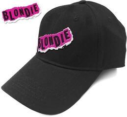 Blondie Punk Logo Czapka z daszkiem muzyczna