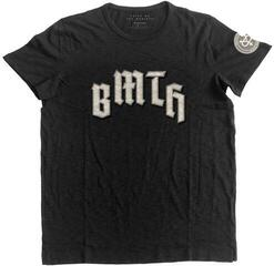 Bring Me The Horizon Unisex Fashion Tee Crooked Young (Applique Motifs) Black