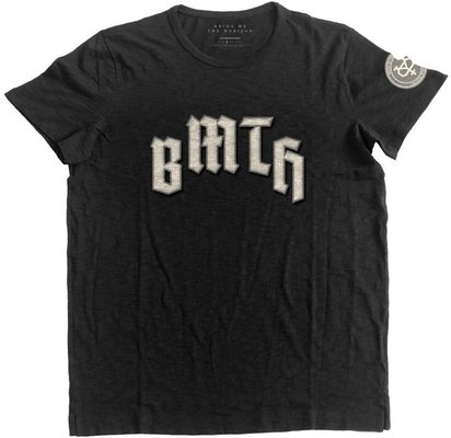 Bring Me The Horizon Unisex Fashion Tee Crooked Young (Applique Motifs) S