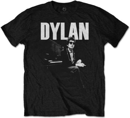 Bob Dylan Unisex Tee At Piano M