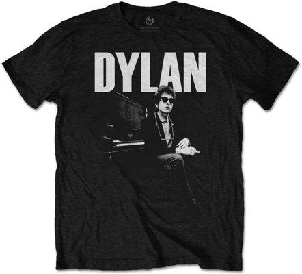 Bob Dylan Unisex Tee At Piano XL