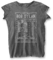 Bob Dylan Ladies Fashion Tee Curry Hicks Cage (Burn Out) Grey