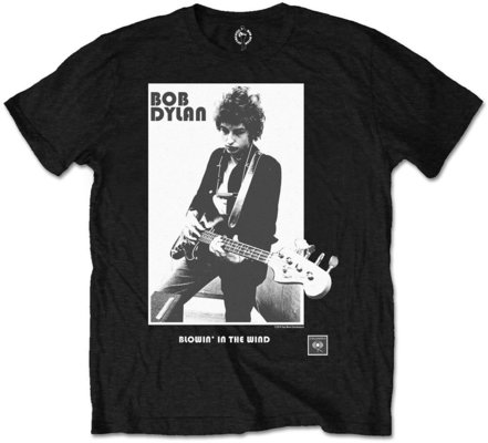 Bob Dylan Unisex Tee Blowing in the Wind (Retail Pack) L