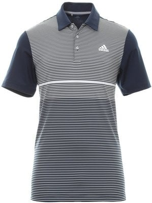 Adidas Ultimate365 Color Block Mens Polo Shirt Collegiate Navy/Grey Two XS