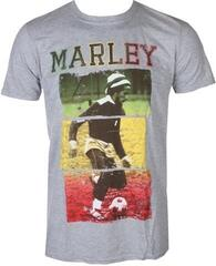 Bob Marley Unisex Tee Football Text Grey