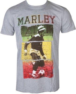Bob Marley Unisex Tee Football Text XL