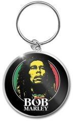 Bob Marley Standard Keychain Logo Face