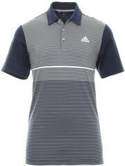 Adidas Ultimate365 Color Block Mens Polo Shirt Navy/Grey