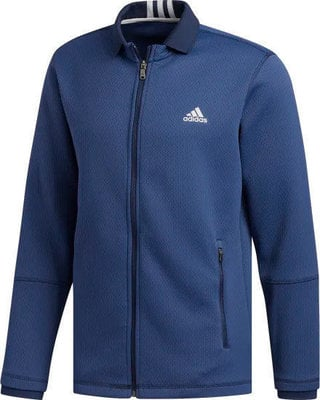 Adidas Climaheat Fleece Mens Jacket Collegiate Navy XL