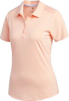 Adidas Ultimate365 Womens Polo Shirt Glow Pink S